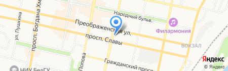Anex shop на карте Белгорода