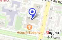 Схема проезда до компании АВТОШКОЛА ДВЕ СЕСТРЫ в Белгороде