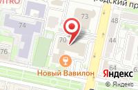 Схема проезда до компании БелБанкрот31 в Белгороде