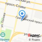 МК стиль на карте Белгорода