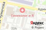 Схема проезда до компании МК стиль в Белгороде