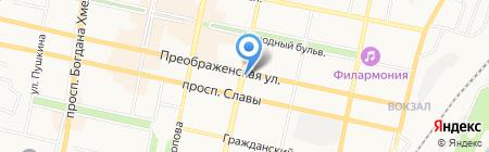 Potis & Verso на карте Белгорода