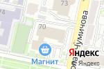 Схема проезда до компании Торговая линия в Белгороде