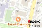 Схема проезда до компании Тензор в Белгороде