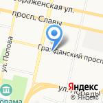 Адвокатский кабинет Беличенко А.М. на карте Белгорода
