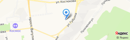 Белгородские Грузовые Перевозки на карте Белгорода