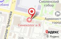 Схема проезда до компании Окошко в Белгороде