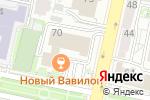 Схема проезда до компании Магия Света в Белгороде