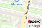 Схема проезда до компании Путевка маркет в Белгороде