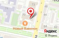 Схема проезда до компании Бизнес Партнер в Белгороде