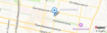 Альянсстрой-Плюс на карте Белгорода