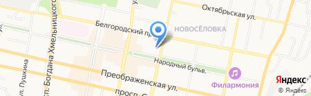 Бокс Плюс на карте Белгорода