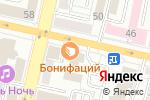 Схема проезда до компании Донец в Белгороде
