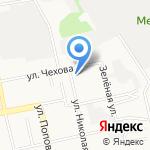 Печь на карте Белгорода