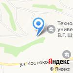 Фабрика информационных технологий на карте Белгорода