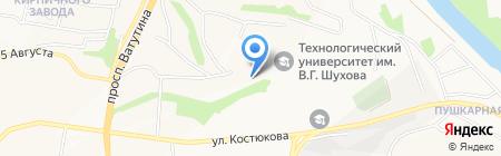 Интелектуальные Транспортные Системы на карте Белгорода