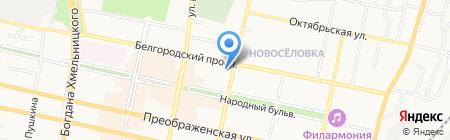 Белгородсоцбанк на карте Белгорода