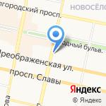 Норма на карте Белгорода