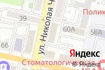 Схема проезда до компании НПП КОНТАКТ в Белгороде
