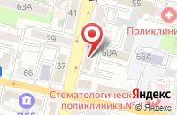 Схема проезда до компании Твойа Мебель в Белгороде