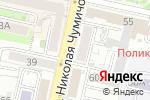 Схема проезда до компании Фаниса в Белгороде