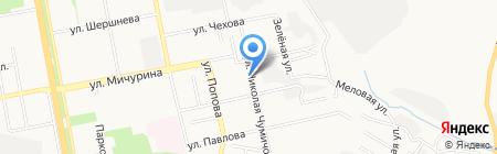 Участковый пункт полиции №19 на карте Белгорода