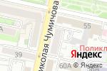 Схема проезда до компании Сладкоежка в Белгороде