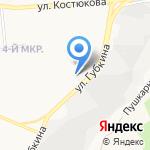 Ветеринарная клиника на карте Белгорода