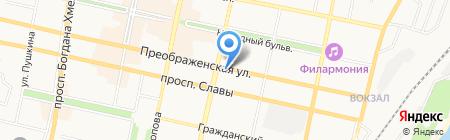 Торжокские злотошвеи на карте Белгорода