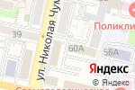 Схема проезда до компании Управление вневедомственной охраны Войск национальной гвардии РФ по Белгородской области в Белгороде