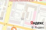 Схема проезда до компании Банкомат, Росгосстрах банк, ПАО в Белгороде