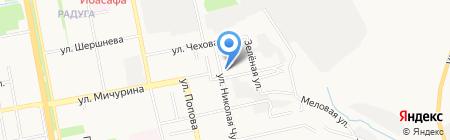 Архипелаг на карте Белгорода