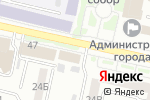 Схема проезда до компании Управление культуры Белгородской области в Белгороде