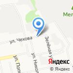 Техсервис на карте Белгорода