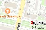 Схема проезда до компании Оливия Тур в Белгороде