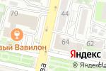 Схема проезда до компании Симба в Белгороде