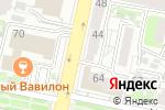 Схема проезда до компании Беби Мода в Белгороде