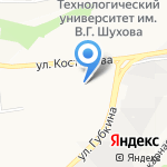 Мирабель на карте Белгорода