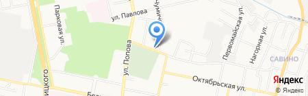 Школьные пособия на карте Белгорода