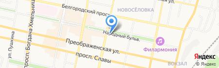 АльянсТрансГрупп на карте Белгорода