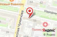 Схема проезда до компании АльянсТрансГрупп в Белгороде