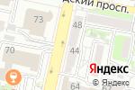 Схема проезда до компании Белгородсортсемовощ в Белгороде
