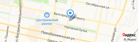 Gipfel на карте Белгорода