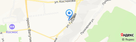 Фунтик на карте Белгорода