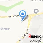Благодать на карте Белгорода