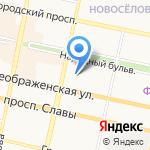 Управление вневедомственной охраны на карте Белгорода
