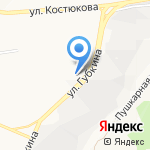 Кочевник на карте Белгорода