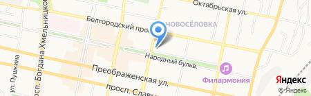 МНЕБУКЕТ.РФ на карте Белгорода