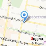 Белгородская недвижимость на карте Белгорода