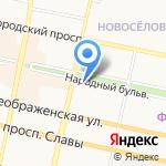 Белгородская областная организация Профсоюза работников связи России на карте Белгорода